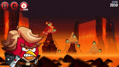 Screenshot of Angry Birds Star Wars II5