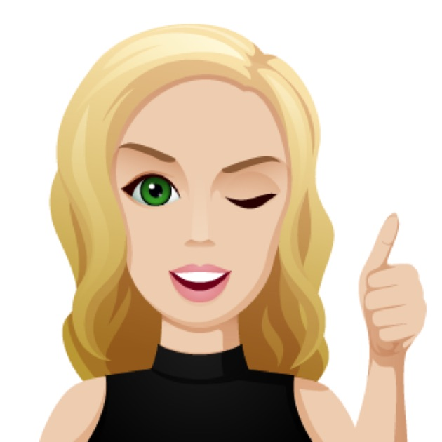 Blonde Hair Lady Emoji Pictures To Pin On Pinterest