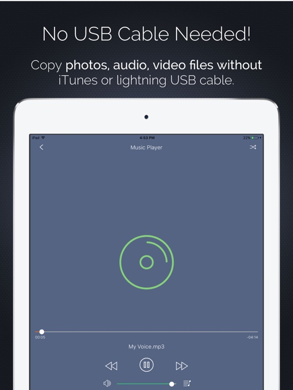 Air Share : File Transfer Pro Screenshots