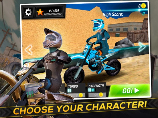 Screenshot #3 for Motocross Trial Racing 3D