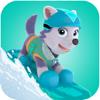 Snow Ski Safari Of Dog Game