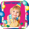 Birthday Photo Editor with Stickers and Frames