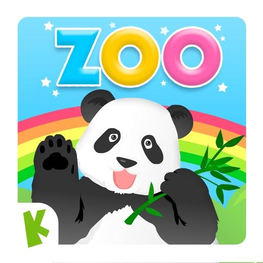 動物園ツアーの単語学習:幼児向けの音声字幕付きのパズルゲーム(無料版)