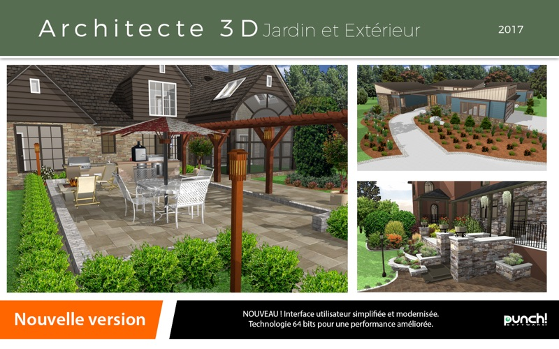 Architecte 3d jardin et ext rieur 2017 par avanquest north for Architecte 3d avanquest