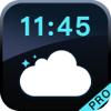 Relógio do tempo Pro- Despertador simples e bonito