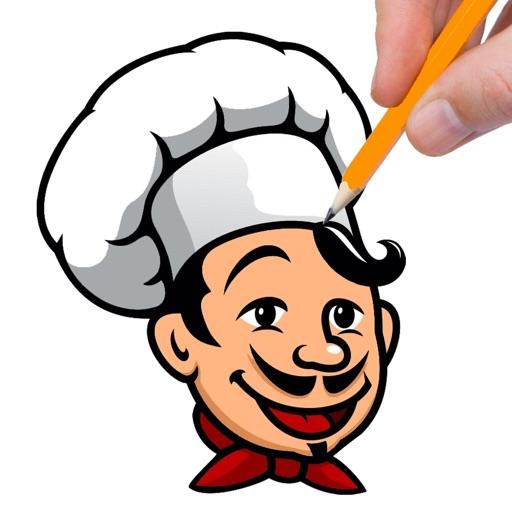 Restaurant Cooking Game Coloring Book Version iOS App