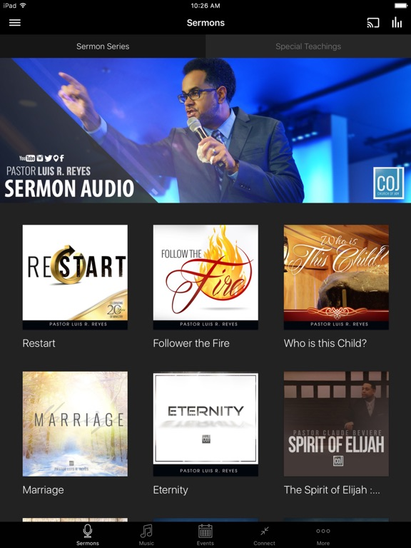 Screenshot #1 for Church of Joy
