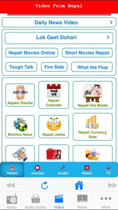 Screenshots of Nepali FM - Radio Video News for iPhone