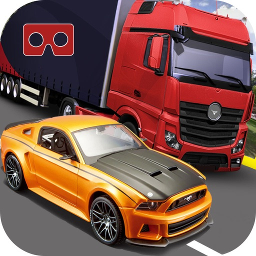 Vr High-Way Traffic Rush : Real End-Less Car Race iOS App