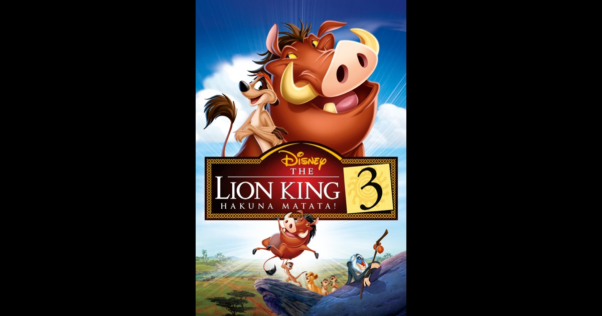The Lion King 3 on iTunes