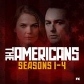 The Americans, Seasons 1-4 - The Americans Cover Art