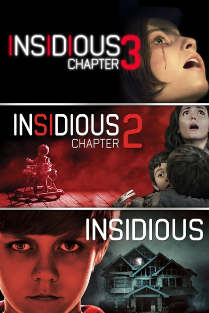 Insidious Trilogy in HD