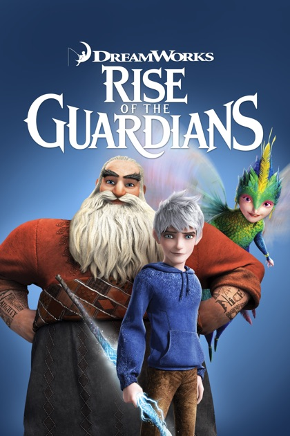 Rise of the guardians movie poster 2012