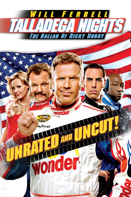 talladega nights the ballad of ricky bobby unrated on. Black Bedroom Furniture Sets. Home Design Ideas